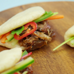 Paul Hollywood steamed bao buns with shredded duck recipe on the Great British Bake Off