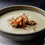 Simon Rimmer Cream Of Chicken Soup With Stuffing Balls recipe on Sunday Brunch