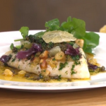 James Martin Monday night fish supper with brown butter grenobloise recipe on This Morning