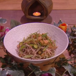 John Whaite miso salmon noodles recipe on Steph's Packed Lunch
