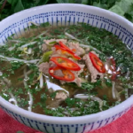 Phil Vickery winter noodle soup with pork fillet and beansprouts recipe on This Morning