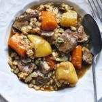 Clodagh's warning Irish stew with lamb neck recipe on This Morning