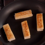 John Torode and Lisa Faulkner cheese toastie fingers recipe on John and Lisa's Weekend Kitchen