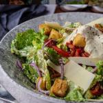 Simon Rimmer Vegan Caesar Salad recipe on Sunday Brunch