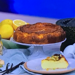 Joseph Denison Carey lockdown cheesecake recipe on This Morning