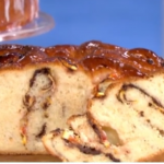 James Martin chocolate and orange Chelsea bun recipe on This Morning