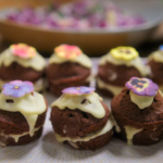 Tom Read Wilson mini chocolate and orange curd cakes recipe on Celebrity Best Home Cook