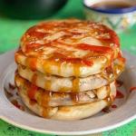 John Gregory Smith Chinese spring onion pancakes recipe on Sunday Brunch