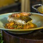 James Martin prawn jalfrezi with grilled prawns and pan fried cod recipe on James Martin's Saturday Morning