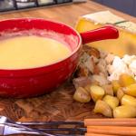 Raymond Blanc cheese fondue recipe on Simply Raymond Blanc
