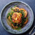 Simon Rimmer Honey Halloumi Salad with Lentils recipe on Sunday Brunch