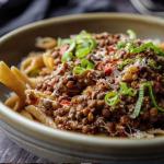 Simon Rimmer lentil ragu with penne pasta recipe on Sunday Brunch