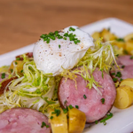 Raymond Blanc Morteau sausage salad with potatoes recipe on Simply Raymond Blanc