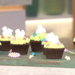Juliet Sear chocolate creme egg cupcakes recipe for a Easter treat on This Morning