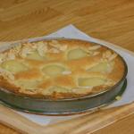 Raymond Blanc pear almondine with flaked almonds recipe on Simply Raymond Blanc