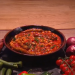 Freddy Forster sausage and baked bean casserole recipe on Steph's Packed Lunch