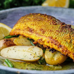 Simon Rimmer Sea Bass with Pickled Mustard Seeds recipe on Sunday Brunch