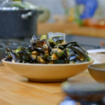 Raymond Blanc Thai mussels with chillies, coriander and ginger recipe on Simply Raymond Blanc
