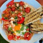 Clodagh McKenna al fresco breakfast (huevos rancheros) recipe on This Morning