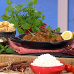 Nisha Katona Friday night vindaloo curry with pork recipe on This Morning