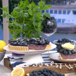 Phil Vickery showstopping blueberry tart with lemon curd recipe on This Morning