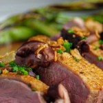 Simon Rimmer Duck With Pickled Mushrooms recipe on Sunday Brunch