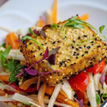 Simon Rimmer daikon salad with ponzu dressing recipe on Sunday Brunch