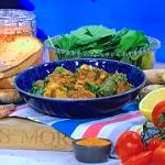 Nisha Katona easy chicken dhansak curry with lentils recipe on This Morning