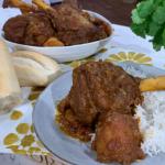 Nisha Katona lamb shank rogan josh with rice recipe on This Morning