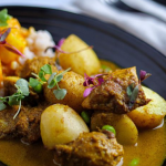 Simon Rimmer chicken and pineapple curry recipe on Sunday Brunch
