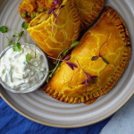 Simon Rimmer prawn and potato curry pasties recipe on Sunday Brunch