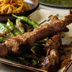 Jeremy Pang Xinjiang Spicy Lamb Skewers recipe on Sunday Brunch