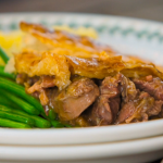 The Hairy Bikers' steak, mushrooms and ale pie with mashed potatoes recipe on The Hairy Bikers Go North