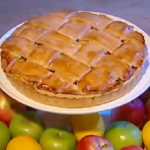 John Whaite American apple pie recipe on Steph's Packed Lunch