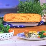 Clodagh Mckenna chicken and mushroom pastry pie recipe on This Morning