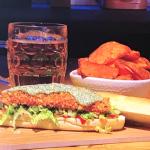 Simon Rimmer ultimate Tandoori fish finger sandwich recipe on Steph's Packed Lunch