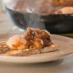 The Hairy Bikers English shakshuka with HP Sauce recipe