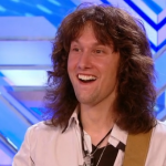 Fil Henley a Guitar Teacher from Berkshire goes from Soft Rock to Hard Core Rock God on The X Factor 2013 auditions by request of the judges