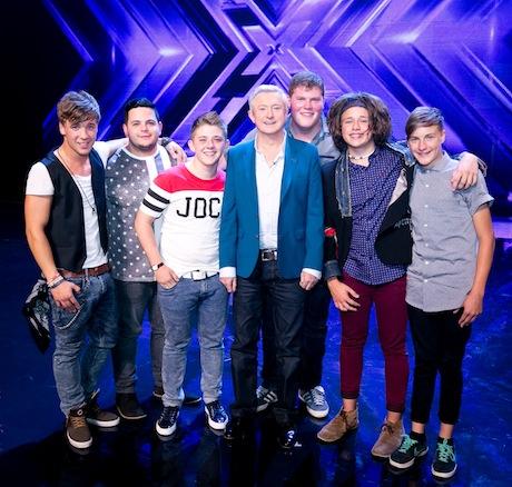 Louis's x factor boys
