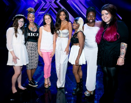 Nicole's x factor girls