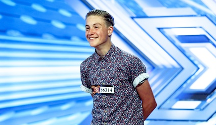 giles potter the x factor 2013