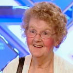 73 year old Joyce Prewett auditioned for The X Factor 2013 and Sang Paper Roses for the panel