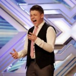 Nicholas McDonald from Motherwell could not get  Gary Barlow on side at The X Factor 2013 auditions with You Raise Me UP