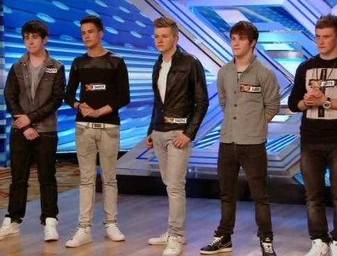 out of the blue the x factor 2013