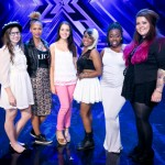 X Factor Top 6 Girls through to Judges Houses 2013 are: Abi Alton, Tamera Foster, Hannah Barrett, Jade Richards, Relley Clarke, Melanie McCabe