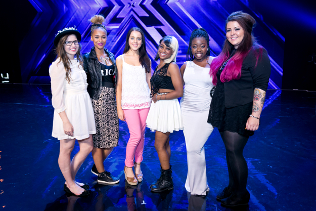 X Factor  Uk top 6 girls in 2013
