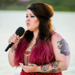 Jade Richards singing Hurt by Christina Aguilera at judges Houses Antigua on The X Factor 2013