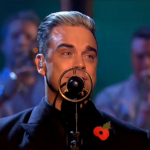 Robbie Williams performs Go Gently on The X Factor 2013 big band night result show