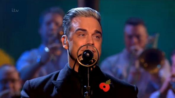 Robbie Williams the x factor