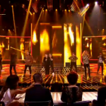 X Factor 2013 Disco Week Results Show: contestants sing A Night to Remember
